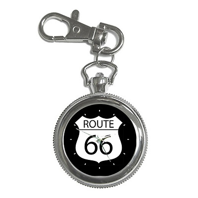 Route 66 Sign Keychain Watch **lovely Gift Item**
