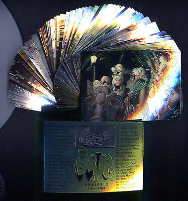 BONE Series 2 - All Chromium 90 Card Set- FREE US Priority Mail Shipping