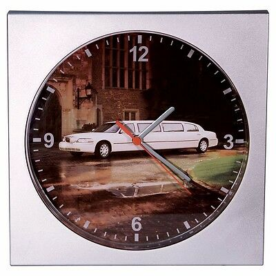 Lincoln Town Car Limousine Wall Clock Collectible
