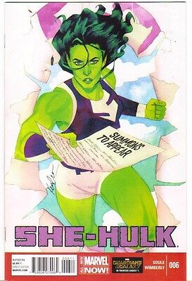 She-Hulk #6 NM (2014) Marvel Comics