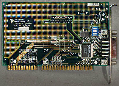 National Instruments AT-GPIB/TNT High-Performance ISA GPIB Interface Card