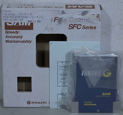 NEW Hitachi SAM 2480G1MC-AGL0 Ar Mass Flow Controller MFC Novellus 22-384497-00
