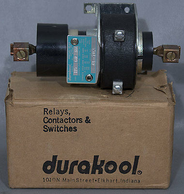 NEW Durakool CF-702 NO 120/115 V 80 Amp 1-Pole Mercury Relay/Contactor