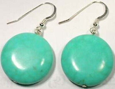 19thC Antique 98ct Siberian Turquoise Ancient American Indian Gem of Immortals