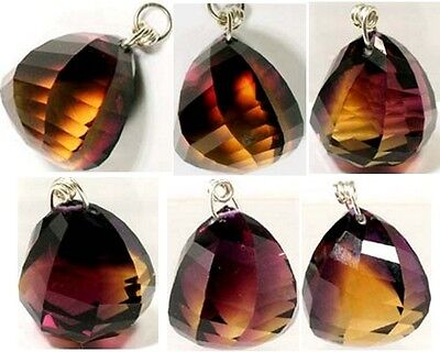 54ct Handcrafted Ametrine Ancient China Russia Roman Gem from India Camel Route