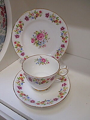 Royal Stafford Divine Floral Trio  Made in England