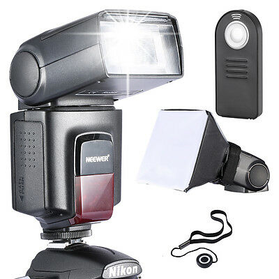 Neewer TT560 Flash Speedlite Kit with Diffuser Remote Control for Canon Nikon