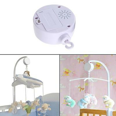 35 Song Rotary Child Mobile Cot Bed Toy Battery Powered Music Box Newborn Bellrf