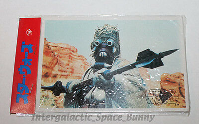 1978 Star Wars Japanese Yamakatsu Trading Cards Sealed Card Pack #1