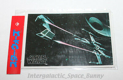 1978 Star Wars Japanese Yamakatsu Trading Cards Sealed Card Pack #4