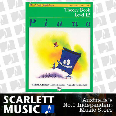 ABPL Alfred's Basic Piano Library - Alfreds Theory Book Level 1B *BRAND NEW*