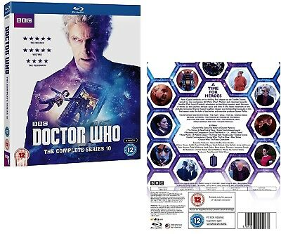 DR WHO 2017 Series 10 + 2016 Christmas Doctor Peter Capaldi  - RgFree BLU-RAY
