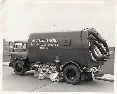 Bedford-Lacre Suction Road Sweeper Model G. Period Photograph.