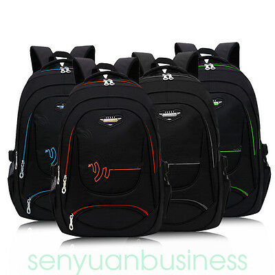 Men Boys Girls Retro Backpack Rucksack School College Travel Laptop Work Bag NEW