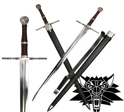 The Witcher 3 Wolf School Steel Sword Full Tang