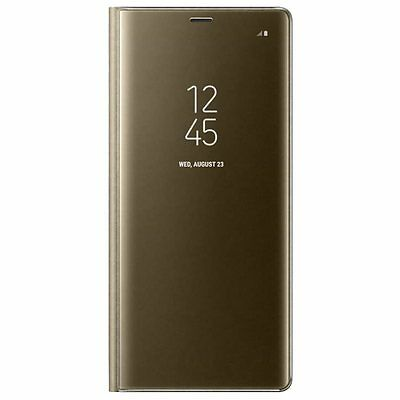 Original Samsung Clear View Standing Cover EF-ZN950 für Galaxy Note 8 - Gold