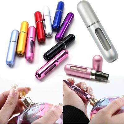 5x 5ml Travel Perfume Aftershave Atomizer Atomiser Bottle Pump Refillable Spray