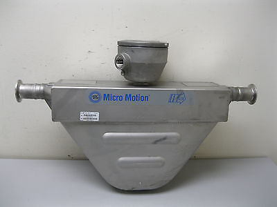 "1"" Micro Motion R100 Mass Flow Sensor w/ Core Processor CALIBRATED A12 (1762)"