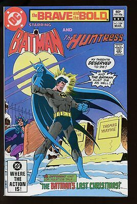 THE BRAVE AND THE BOLD #184 NM BATMAN AND THE HUNTRESS DC bin-2017-0724