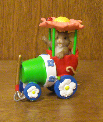 Charming Tails #4020486 SPRING BLOSSOM EXPRESS, Enesco, NEW/Box by Dean Griff