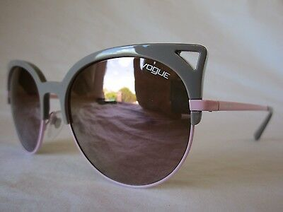 Vogue Sunglasses Vo5137S 25385R Grey Pink Cat Eye Grey 55-19-135 New & Authentic