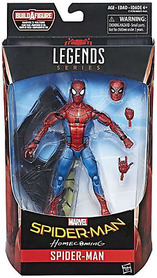 Marvel Legends Homecoming Spider-Man Series Spider-Man Cmu Figure