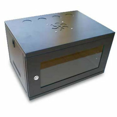 Data Cabinet for Rack Mounted Networking Small 6U Wall Mounting 450mm [002233]