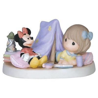 NEW PRECIOUS MOMENTS DISNEY Figurine MICKEY MINNIE MOUSE Camping ...