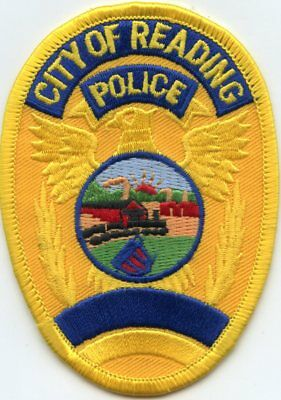 Reading Pennsylvania Pa Police Patch