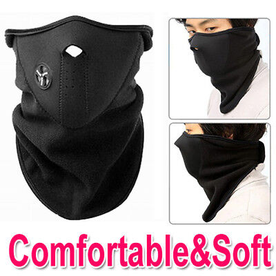 Neoprene Motor Cycle Bike Bicycle Half Face Mask Ski Snowboard Fishing Neck Warm