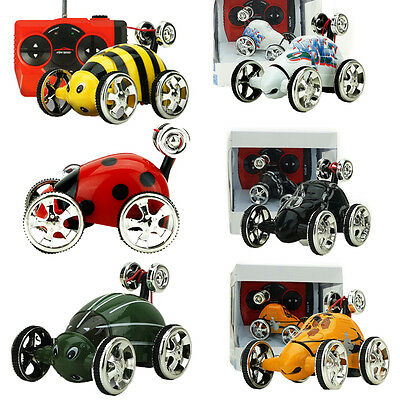 Mini Kids Child Boy Electric Rc Mini Radio Remote Control Insect Car Toy Gift