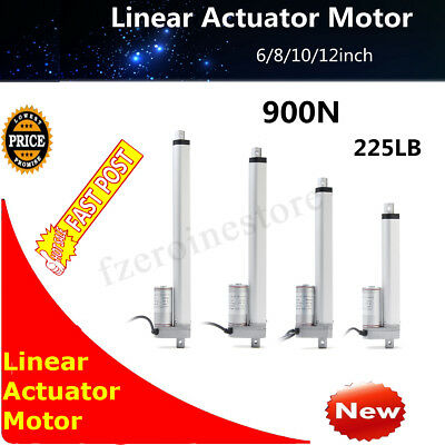 6-12'' DC 12V 900N Linear Actuator Motor For Auto Car RV Electric Door Opener
