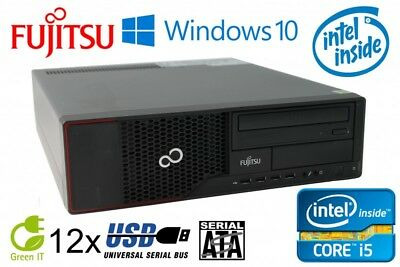 Fujitsu Esprimo E710 Intel Core i5-3470 4x3.2GHz 4GB RAM 250GB HDD DVD-ROM Win10