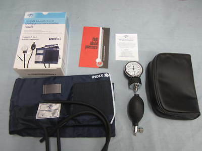 Medline MDS9380 Sphygmomanometer, Aneroid,Adult, Handheld, Blue  FREE SHIPPING!