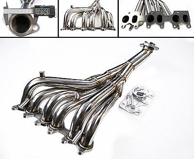 Stainless Steel Exhaust Manifold Header Vw Golf Mk3 2.8L Corrado 2.9L Vr6 92‐04
