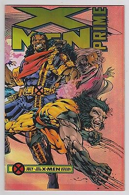 X-Men Prime #1 Wraparound Chromium Cover Marvel Comics Age of Apocalypse 1995