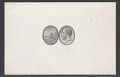 Dominica 5409 - 1923 KG5 BADGE ISSUE VIGNETTE DIE PROOF