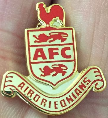 Airdrieonians Crest Enamel Pin Badge