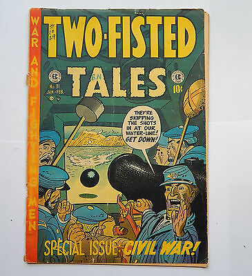 Two-Fisted Tales #31 by EC (Jan-Feb 1953) GD-