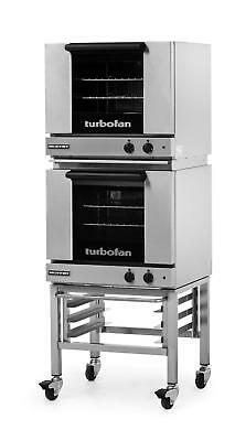 Moffat E23M3/2C Electric Convection Oven Half Size 3 Pan Mobile Stand