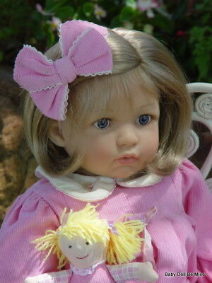 "Retired ~ Berenguer ~ Daisy ~ Vinyl  20"" Toddler Girl Doll ~ 2007 ~ With Box"