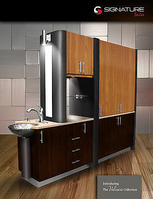 NEW - Valencia - MidMark Style Center Island Cabinet Luxury Complete - Dental