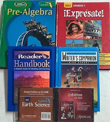 Grade 9 Curriculum 6-Subject Homeschool 9th Student Set Homeschooling Set