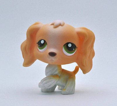 Pet Spaniel Dog Collection Child Girl Boy Figure Littlest Toy Loose LPS975