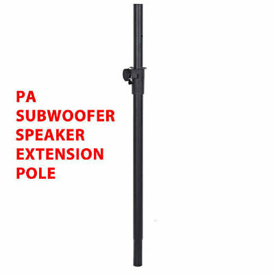 DP Stage SS010 Heavy Duty PA Subwoofer Speaker Extension Pole 35mm Diameter