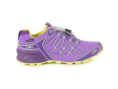 CMP Hiking Shoe Hiking Shoes Super X PURPLE QUICK LACING Ortholite