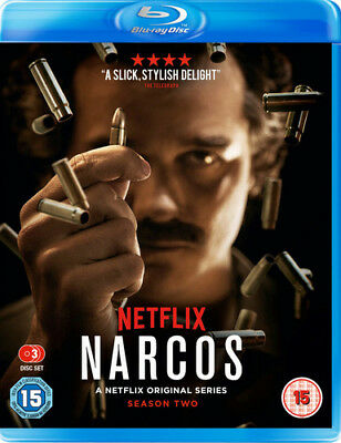 Narcos: The Complete Season Two Blu-Ray (2017) Wagner Moura ***NEW***
