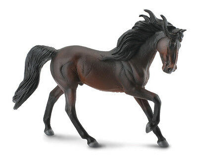 Breyer CollectA 88463 Andalusian Bay stallion horse exceptional miniature <><