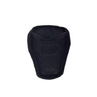 "5ive Star Gear 4623000 Open Top Handcuff Case Nylon Black Fits Up To 2"" Belt"