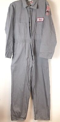 Walla FR Flame Resistant Work Wear Coveralls Suit Mens Large Tall Gray/grey